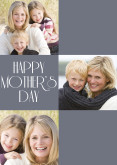 Blue Happy Mother's Day Collage