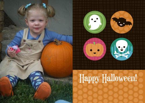 7x5 Card: Happy Halloween!