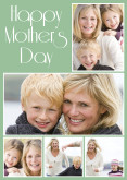 Mint Green Happy Mother's Day Collage