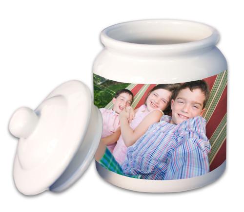 Large Porcelain Cookie Jar