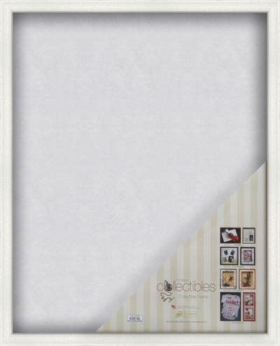 Collectible Shadow Box - White 4x6