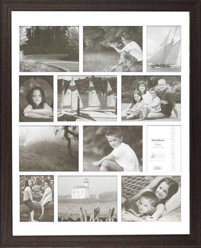 Americana Collage - Espresso 16x20