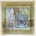 Stained Glass Butterfly I