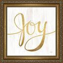 12x12 Joy Framed Art