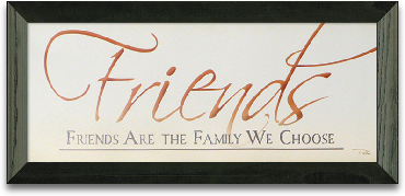 Friends Are Family We Choose preview