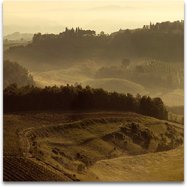 Sunrise Over Tuscany III preview