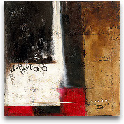 Red Contemporary IV