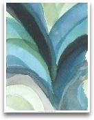 Big Blue Leaf I