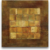 Gold Squares - Oversize