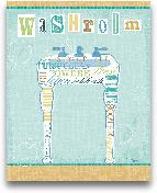 Bathroom Words Sink ...<span>Bathroom Words Sink II - 8x10</span>