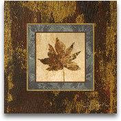 Autumn Leaf Square IV