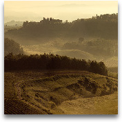 Sunrise Over Tuscany III