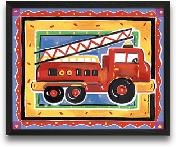 Fire Engine 10x8
