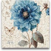 A Blue Note II - 18x18