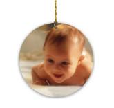 Round Glass Ornament/Sun-catcher