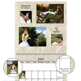 2016 Wedding Wall Calendar