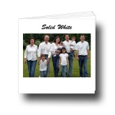 12x12 Solid White