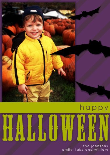 5x7 Card: Batty Halloween