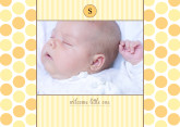 5x7 Card: Welcome Little One