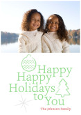 Happy Holidays To You - Green