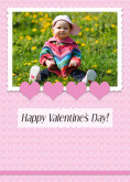 5x7 Card: Happy Valentine's Day!