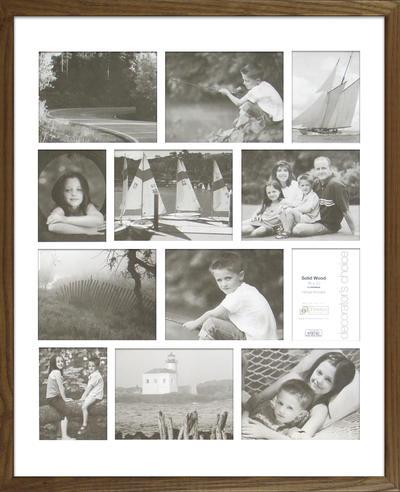 Americana Collage - Natural Oak 16x20