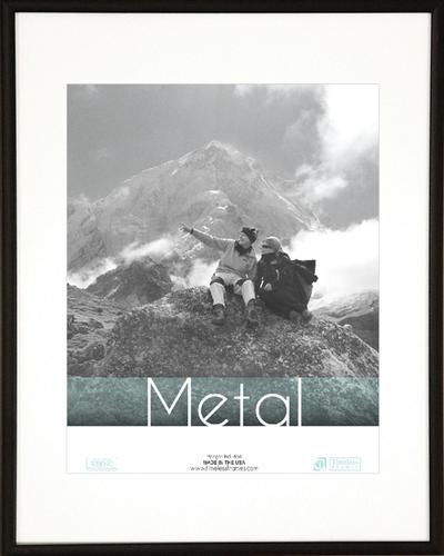 Metal Black 8x10
