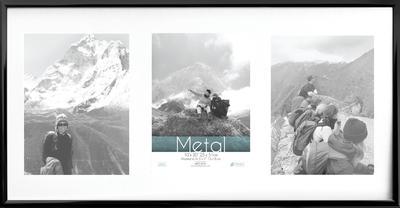 Metal Black Collage 20x10