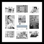 Life's Great Moments 20x20 - Black