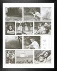 Americana Collage Black- 16x20