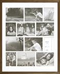 Americana Collage- Natural Oak 16x20