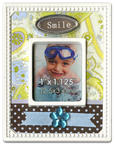 Scrapbook Magnet - Smile (Small)