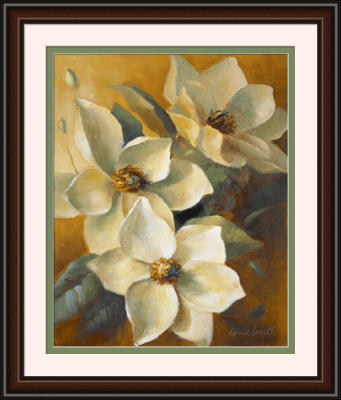 Magnolias Aglow At Sunset II preview